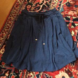 Flowy Lacoste skirt (pockets!)